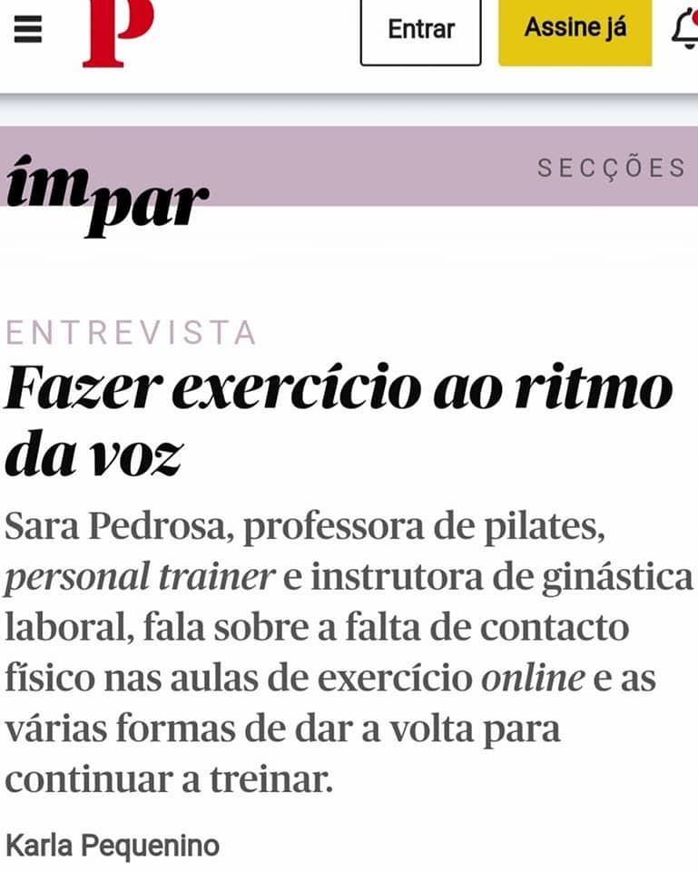 Entrevista na Revista Ímpar